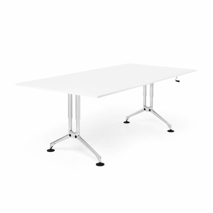 Refurbished Vitra Ad Hoc desk | Crank adjustment