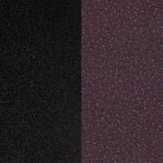 OUTLET | Arco Sketch Dining F | Black steel | Purple sprinkles crossbill