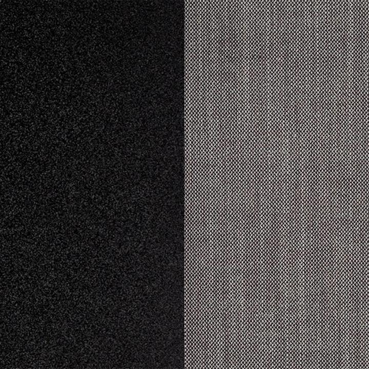 OUTLET | Arco Sketch Hocker | Black aluminium | Grey brownsSunniva 352