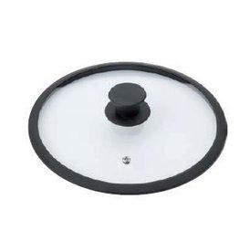 Braet Schöner Glasdeckel 16 cm mit Silikonkante und Knopf für Stielkasserolle.  Mit Dampffunktion