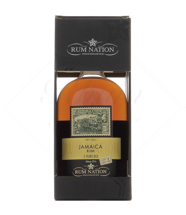 RHUM NATION 5 Y Jamaica Pot Still Sherry Finish Oloroso 50°