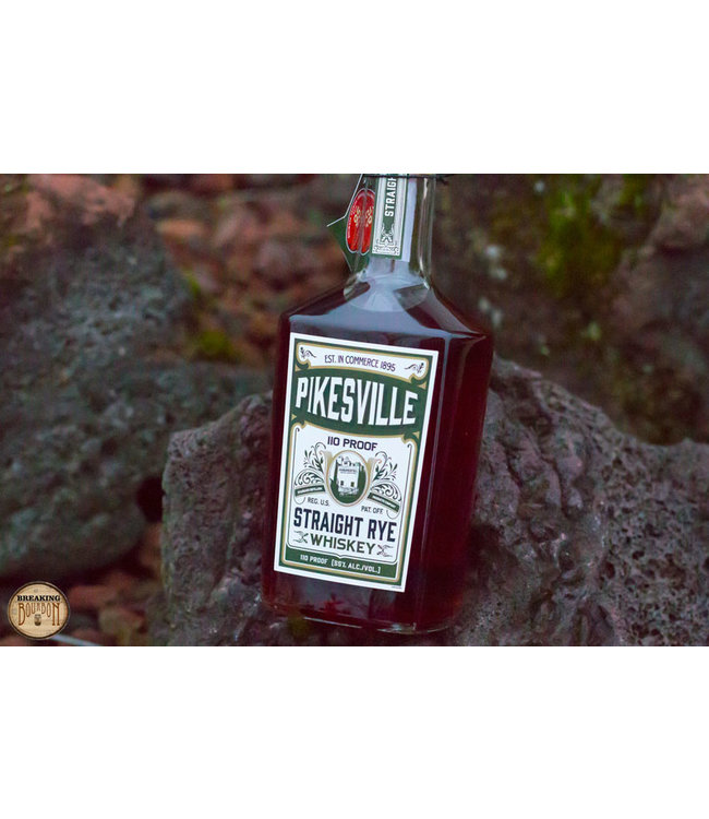 Pikesville 6 Year Old 110 Proof Straight Rye (70cl, 55%)