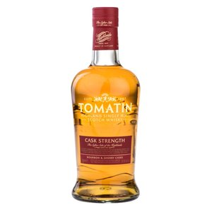 TOMATIN Cask Strength (70cl, 57.5%) New Bottle