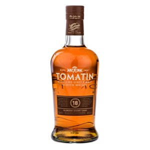 TOMATIN 18 Year Old Sherry Cask (70cl, 46.0%)