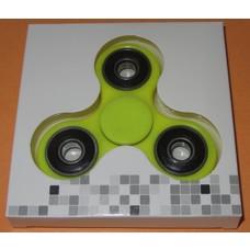Fidget Spinner felgeel/zwart#2