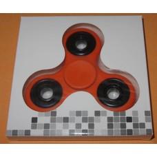 Fidget Spinner oranje/zwart#2