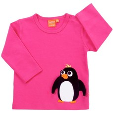 Lipfish shirt Pinguin cerise