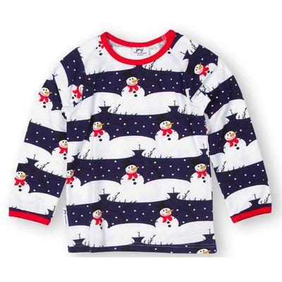 JNY shirt Snowman
