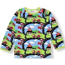 JNY shirt Firetruck ls