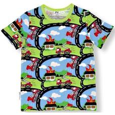 JNY shirt Firetruck ss