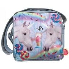 De Kunstboer squarebag two Unicorns