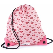 Zebra Trends gym / swimming bag Kisses