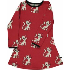 Smafolk dress Cat red