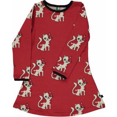 Smafolk jurk Cat rood