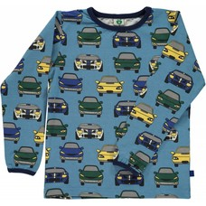 Smafolk shirt Car blauw