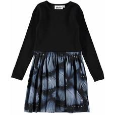 Molo jurk Velvet Wings Jersey