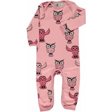 Smafolk jumpsuit Owl pink