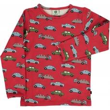 Smafolk shirt Cars rood