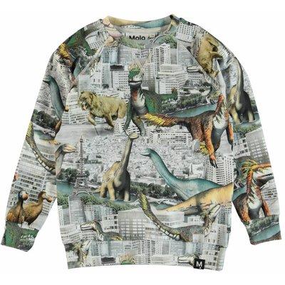 Molo shirt Revival Animals ls
