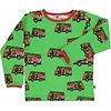 Smafolk shirt Firetruck green