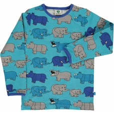 Smafolk shirt Rhino and Elephant