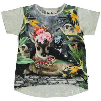 Molo shirt Flower Bambi