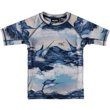 Molo swim shirt Jumping Svordfish