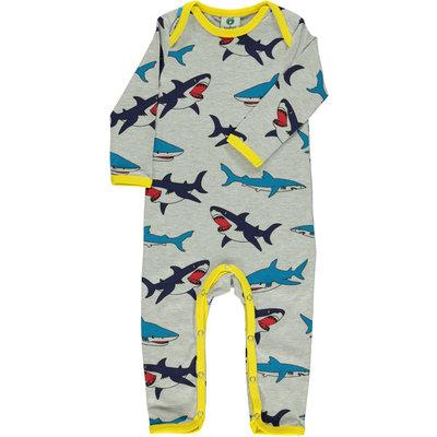 Smafolk jumpsuit Shark grijs