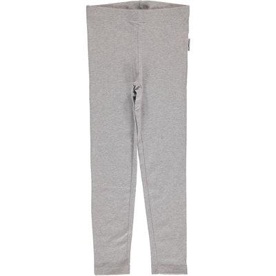 Maxomorra Light Gray Melange leggings