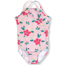 JNY swimsuit Hibiscus