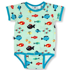 JNY romper Swimming Fish