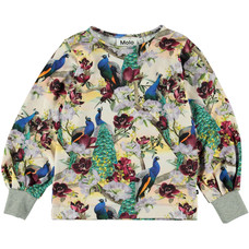 Molo shirt Oriental Peacocks
