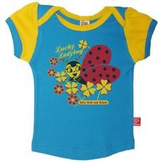 Retro-Rock-and-Robots shirt Lucky Ladybug