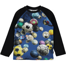 Molo shirt Cosmic Footballs