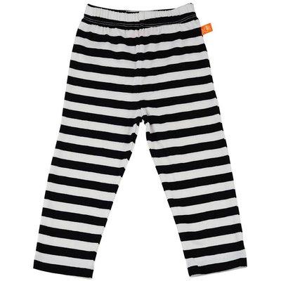 Lipfish legging zwart/wit