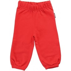 Maxomorra Red sweat pants