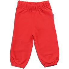 Maxomorra Red sweat pants