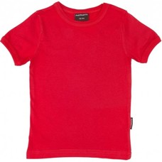 Maxomorra shirt Red ss