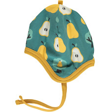 Maxomorra baby hat Golden Pear