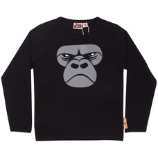 Danefae DYR shirt Gorilla zwart