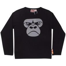 DYR shirt Gorilla zwart
