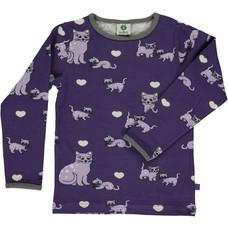 Smafolk shirt Cats purple
