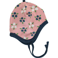 Maxomorra baby hat Blueberry Blossom