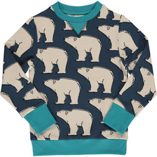 Maxomorra sweatshirt Polar Bear
