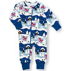 JNY jumpsuit Snowy Cottage