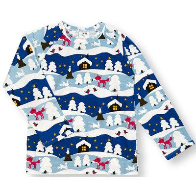 JNY shirt Snowy Cottage