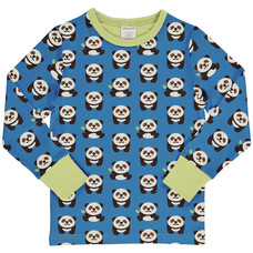 Maxomorra shirt Playful Panda ls
