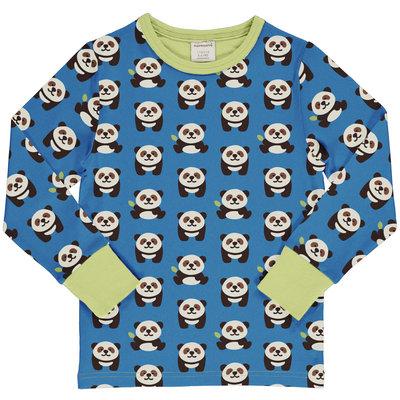 Maxomorra shirt Playful Panda ls