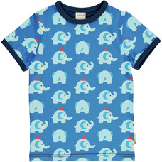 Maxomorra shirt Elephant Friends ss