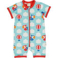 Maxomorra Parrot Safari summersuit
